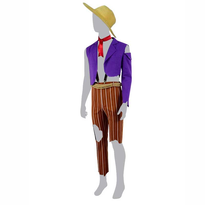 Coco 2017 Movie Hector Light Purple Halloween Cosplay Costume For Sale