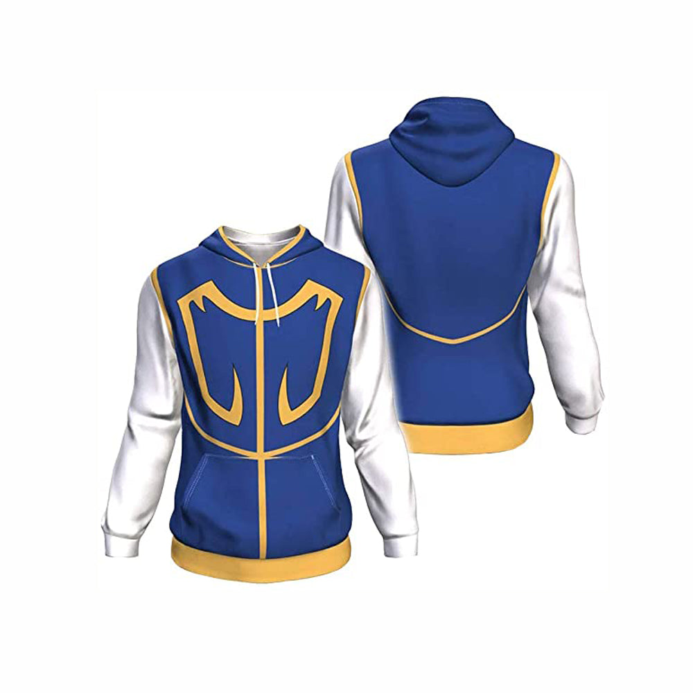 Hunter X Hunter 3D Printed Hoodie Jacket Cosplay Costume