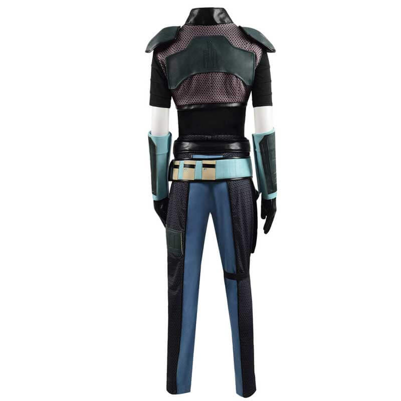 Star Wars: The Mandalorian Cosplay Cara Dune Cosplay Costume Full Set Outfits
