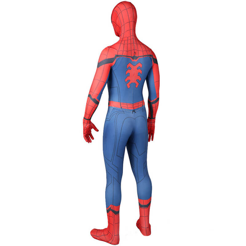 Marvel Spider-Man:Homecoming Jumpsuit Halloween Cosplay Costume - ACcosplay