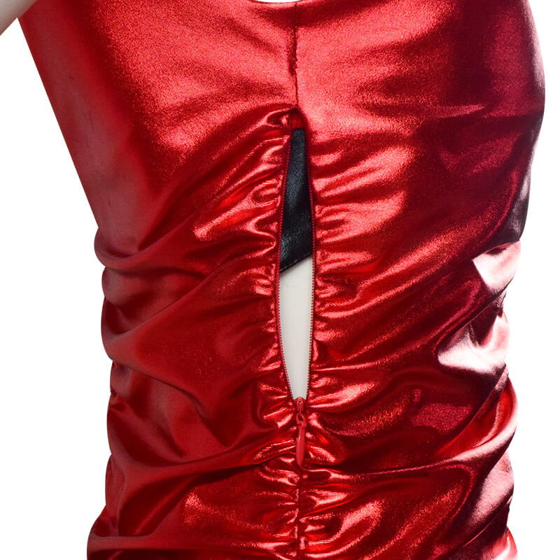 Resident Evil 2 Remake Ada Wong Cosplay Costume Red Dress Outfit For Sale