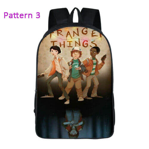 Stranger Things 3 Backpack School Bag Bookbag for Kids Children Boys Girls - ACcosplay