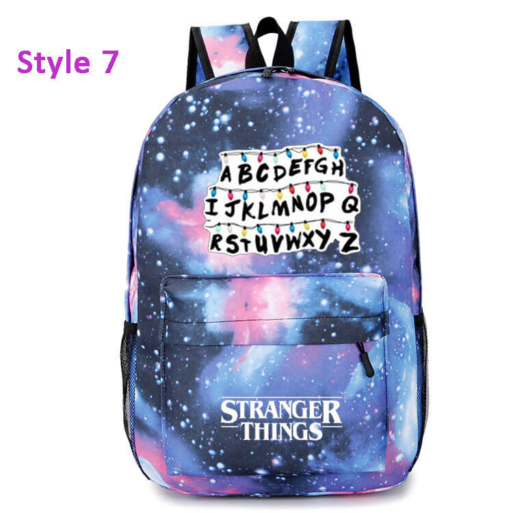 Stranger Things Backpack Bag Lightweight Travel Sports Bag For Kids Adults - ACcosplay