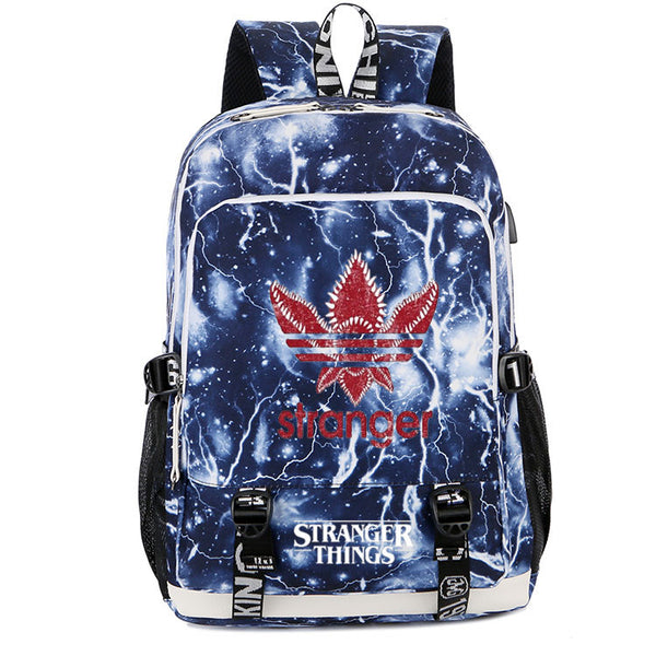 Stranger Things Backpack For School Book Bags Unisex Notebook Laptop Daypack - ACcosplay