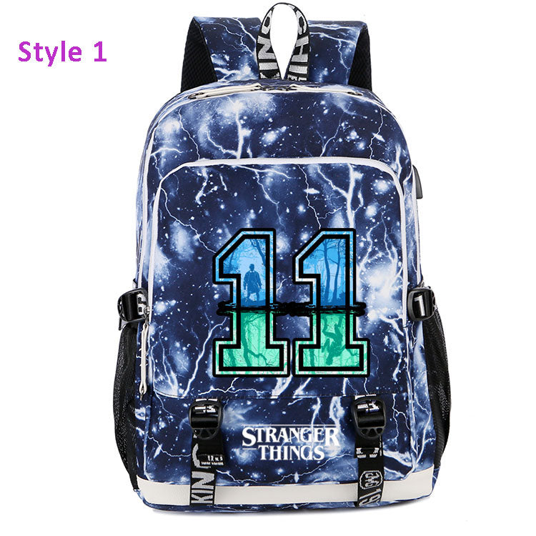 Adults Stranger Things Backpack Shoulder School Bag For Girls/Boys - ACcosplay