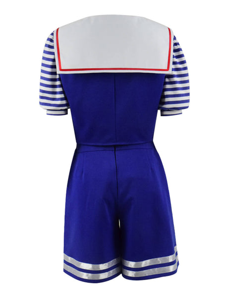 Stranger Things Season 3 Robin's Scoops Ahoy Uniform Halloween Costume - ACcosplay
