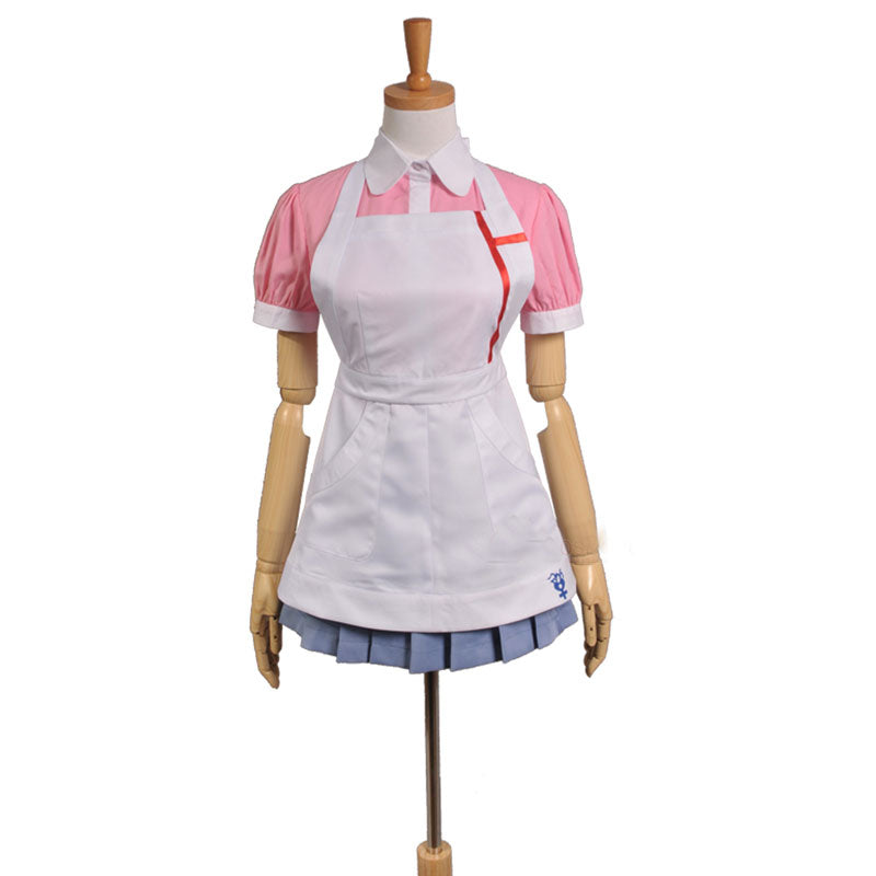 Super Danganronpa 2 Mikan Tsumiki Dress Cosplay Costume - ACcosplay