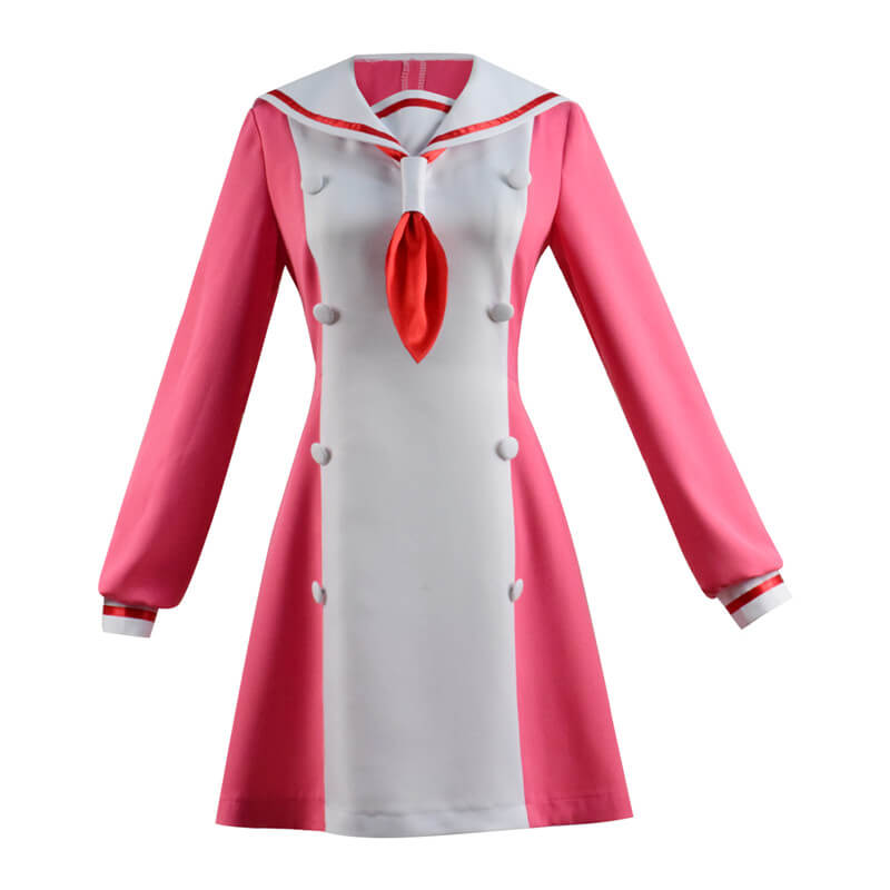 Muno na Nana Talentless Nana Nana Hiiragi Cosplay Costume Pink Dress School Uniform