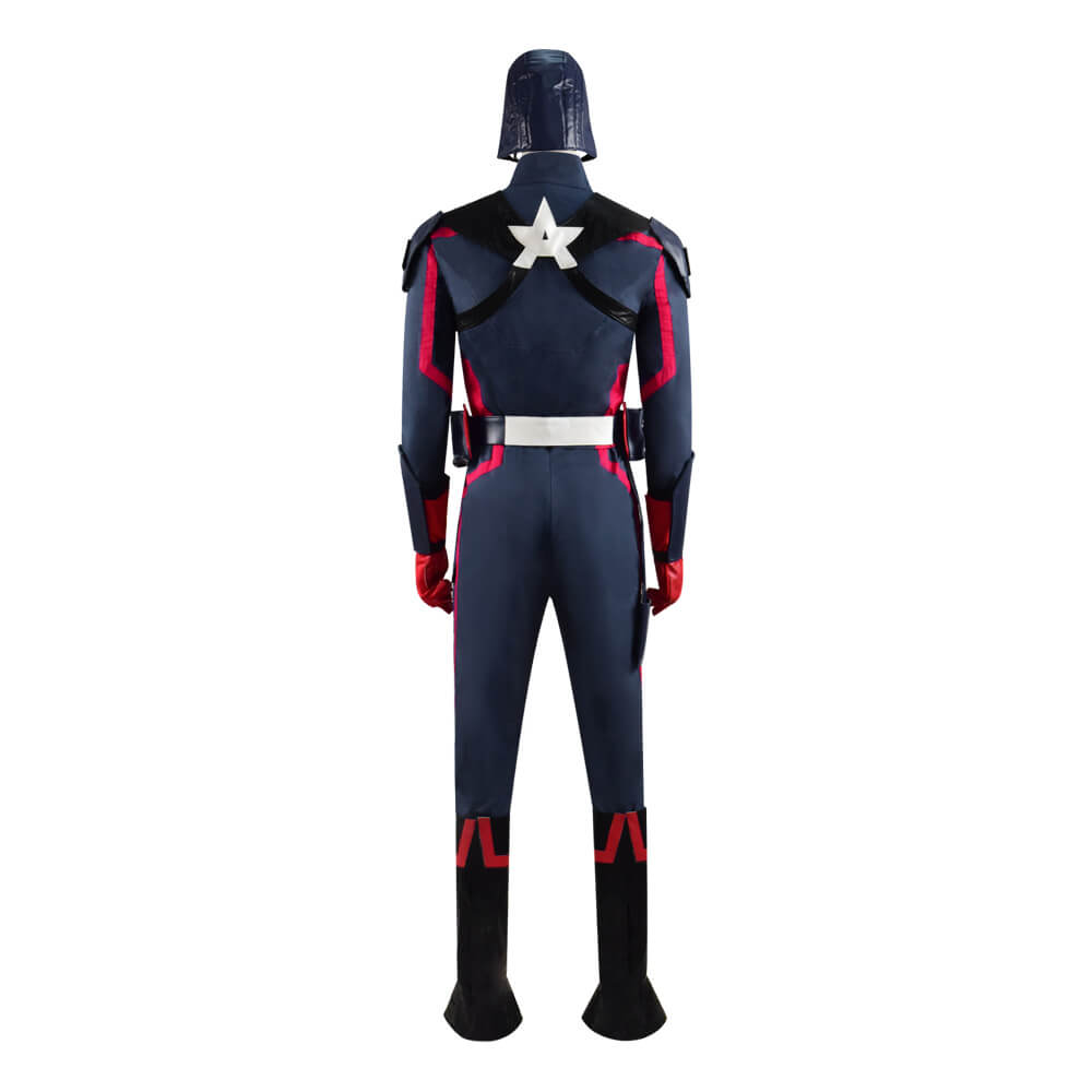 The Falcon And The Winter Soldier Captain America Cosplay Costume Full Set Outfit