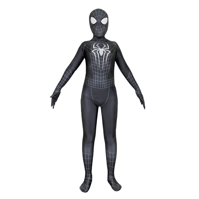 Marvel The Amazing Spider-Man Black Jumpsuit Cospaly Costume - ACcosplay