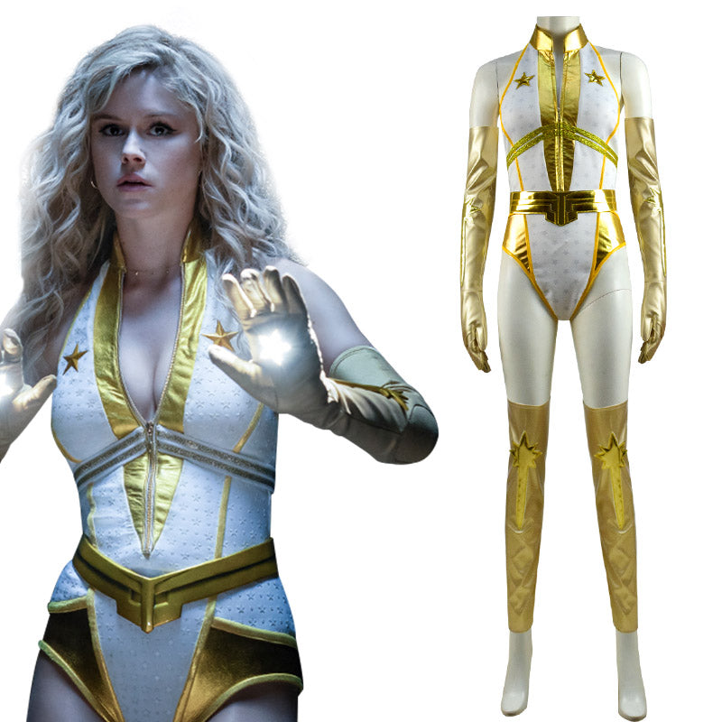 New Edition The Boys Season 2 Starlight Annie January Bodysuit Battle Suit Cosplay Costume