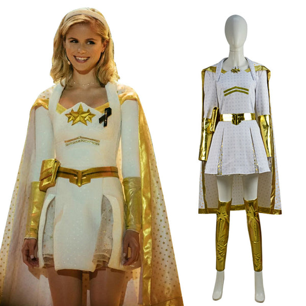 The Boys Season 2 Starlight Cosplay Cape Full Set Outfit Cosplay Costume