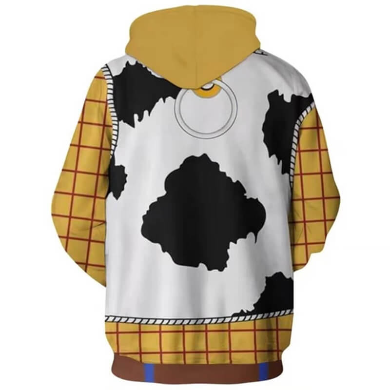 Disney Woody Toy Story Costume 3d Printed Hoodies Pullover Jacket ACcosplay - ACcosplay