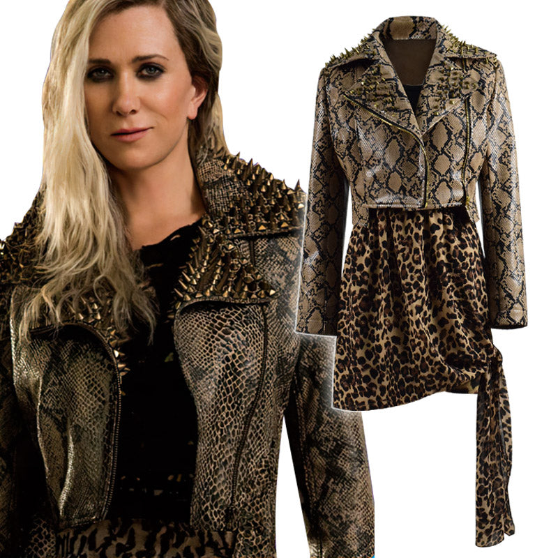DC Wonder Woman 1984 Cheetah Cosplay Costume Jacket Full Set Oufit For Sale