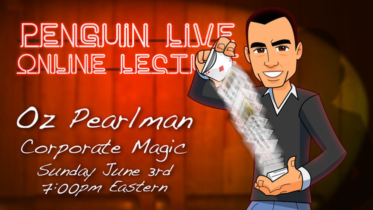 Oz Pearlman LIVE 2: Corporate Magic (Instant Download)