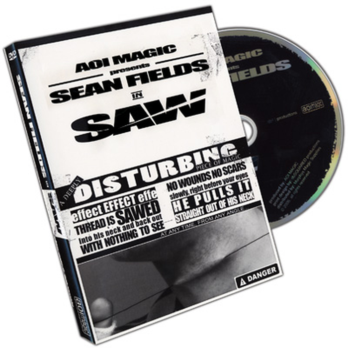Saw by Sean Fields (DVD)