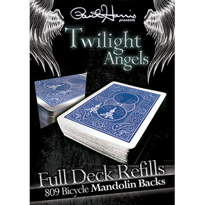 Paul Harris Presents Twilight Angel Full Deck Refill (Blue Mandolin) by Paul Harris