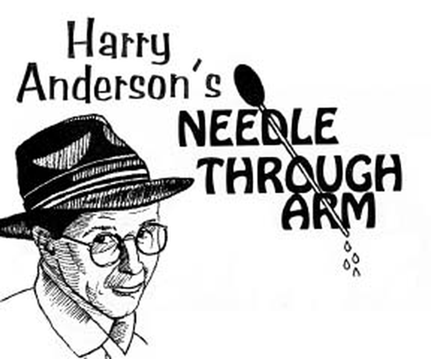 Harry Anderson's Deluxe Needle/Screwdriver Through Arm (The Only Authorized Version)