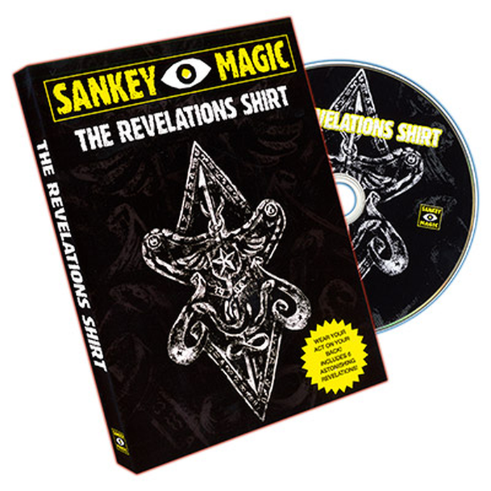Revelations (LARGE, With DVD) by Jay Sankey- Trick