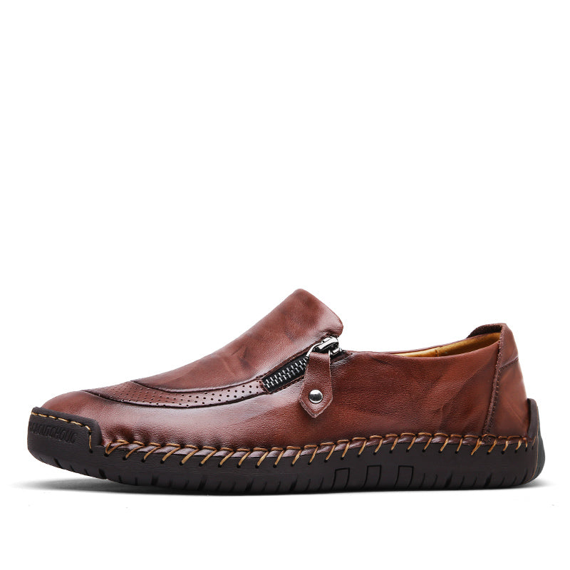 Classic Leather Moccasins