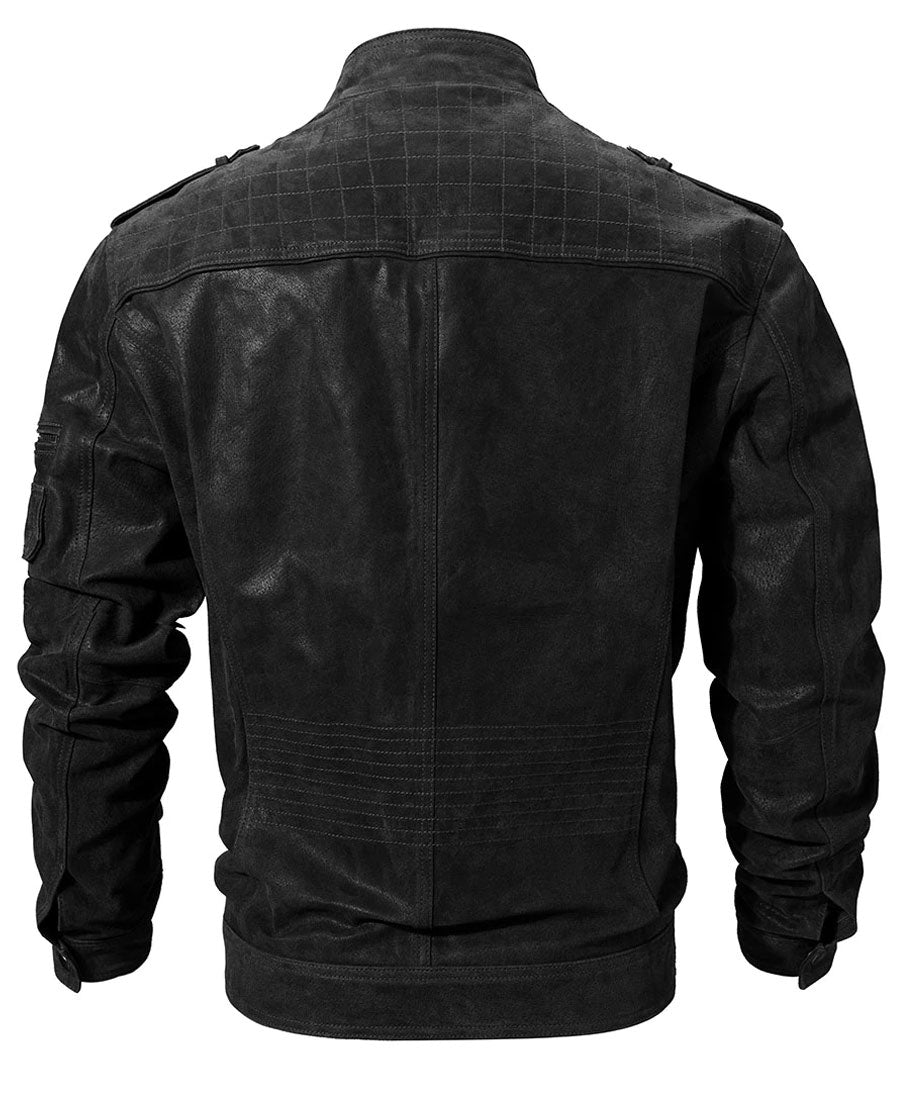Duke Men's Leather Jacket