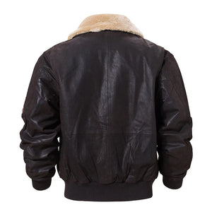 Vintage Stylists Force Leather Jacket