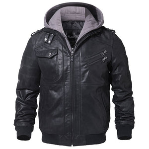 Elite™ Men's Leather Jacket