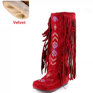 Country Tassel Boots