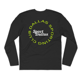 Dallas Sporting Club™ Circle Logo Long-Sleeve Tshirt - Blk/lime grn/wht