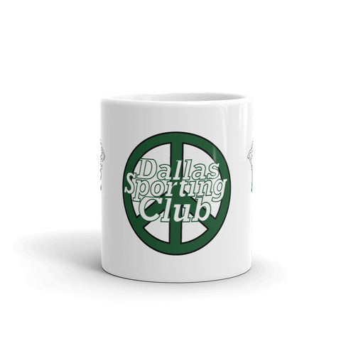 Dallas Sporting Club™ Practice Peace Coffee Mug/Pencil Holder