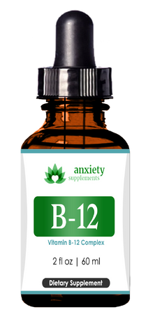B-12 drops anxiety supplements