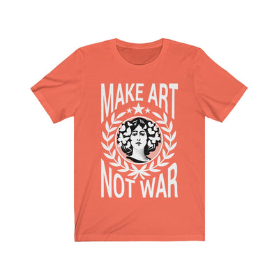 Make Art Not War Short Sleeve Tee