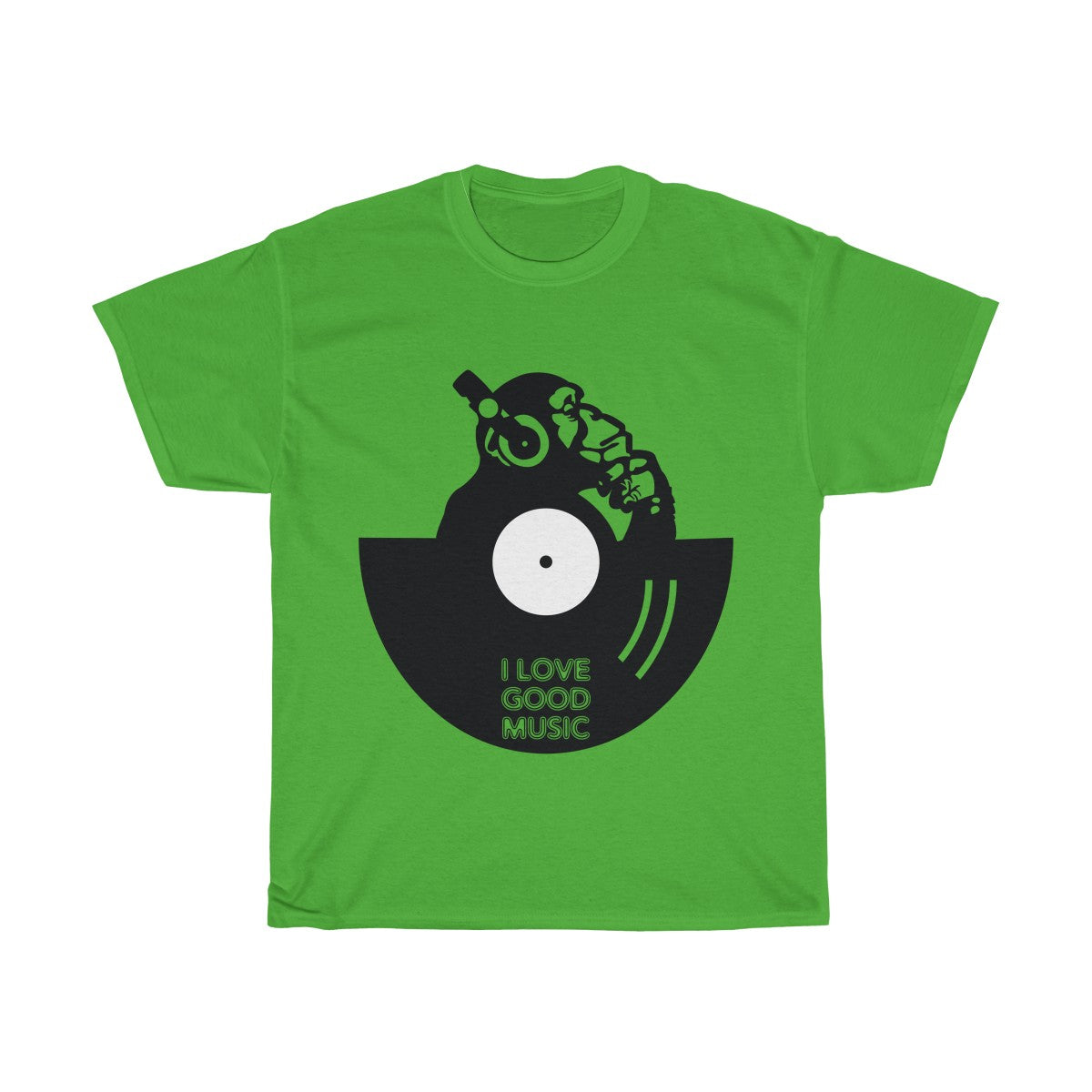 I love good Music Heavy Cotton Tee