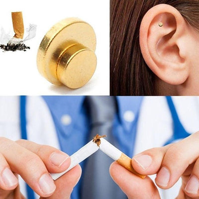 Quit Smoking Magnets using Auricolotherapy