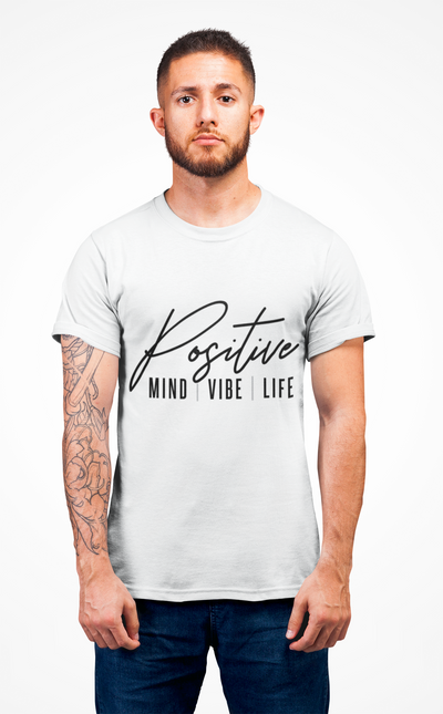 Positive Vibes Short Sleeve Tee