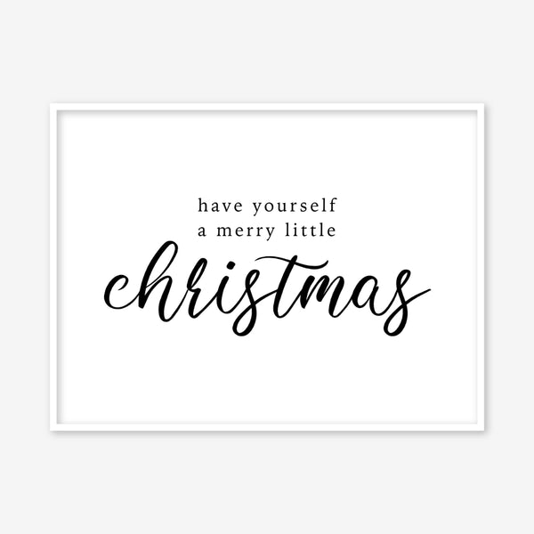 Christmas Prints & Posters - Christmas Quotes & Signs For Your Home –  Modiprints