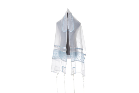 Baby Blue Tallit for Women