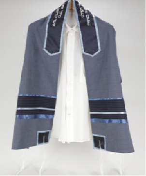 Youthful Easy Going Blue Tallitot, Bar Mitzvah Tallit Set