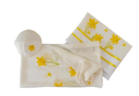 The Daffodils tallit for women