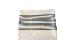 Refreshing White and Blue Tallit, Bar Mitzvah Tallit bag, Tallit Prayer Shawl,
