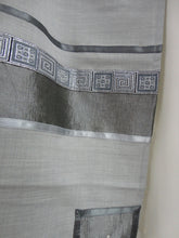 Load image into Gallery viewer, Light Grey tallit