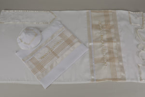 SHEER WHITE SPECIAL OCCASION PRAYER SHAWL