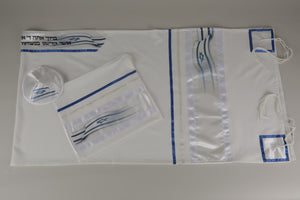 BELOVED STARS OF DAVID DECORATION ON VISCOSE TALLIT