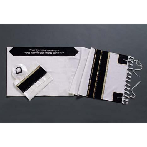Hand Made Wool Tallit For Men