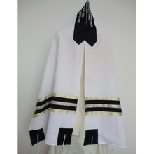 Load image into Gallery viewer, Blue and Gold Tallit, Bar Mitzvah Tallit