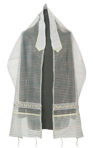 Bat mitzvah tallit G239 girls tallit, womens tallit by Galilee Silks