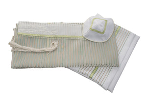 Bat mitzvah tallit G239 girls tallit set, womens tallit by Galilee Silks