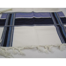 Load image into Gallery viewer, Modern Men Tallit With Blue Decorations