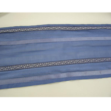 Load image into Gallery viewer, Slate Blue Patterned Tallit
