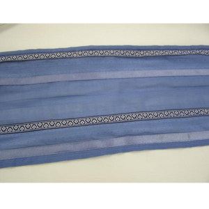 Slate Blue Patterned Tallit